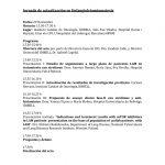 Jornada de actualización en linfangioleiomiomatosis